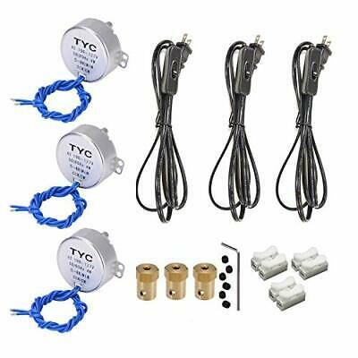 3PCS Synchronous Synchron Motor Turntable Motor Electric Synchron Motor For C…