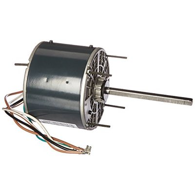 Marathon X412 48Y Frame Totally Enclosed 48A11T569 Condenser Fan Motor 1/4 hp, 1075 RPM, 208-230 VAC, 1 Phase, 1 Speed, Ball Bearing, Permanent Split Capacitor, Thru-Bolt