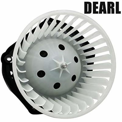 Front AC Heater Blower Motor w/Fan Compatible with 97-99 C1500 K1500 Suburban / 97-00 C2500 C3500 K2500 K3500 Tahoe – 00-97 Yukon – 99-00 Escalade Replaces 19131213