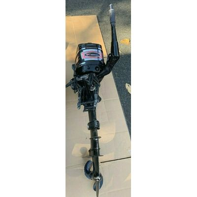 1970's Mercury Outboard 4 HP runs   used  pick-up only